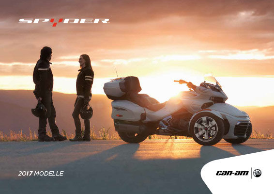 DE MY17 Can Am Spyder Katalog