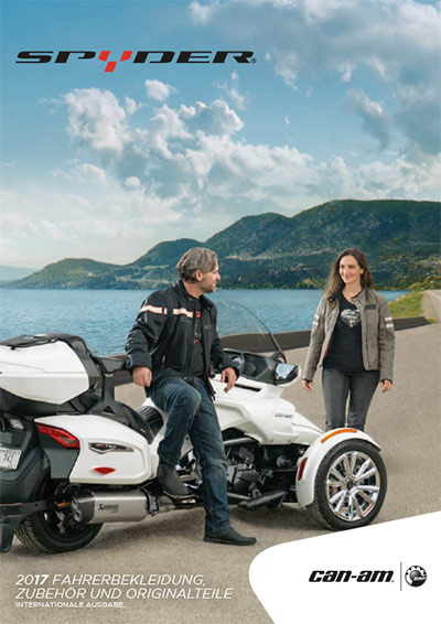 CAN-AM Spyder PAC-Katalog 2017